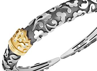 Браслет в стиле Carrera y Carrera из комбинированного золота